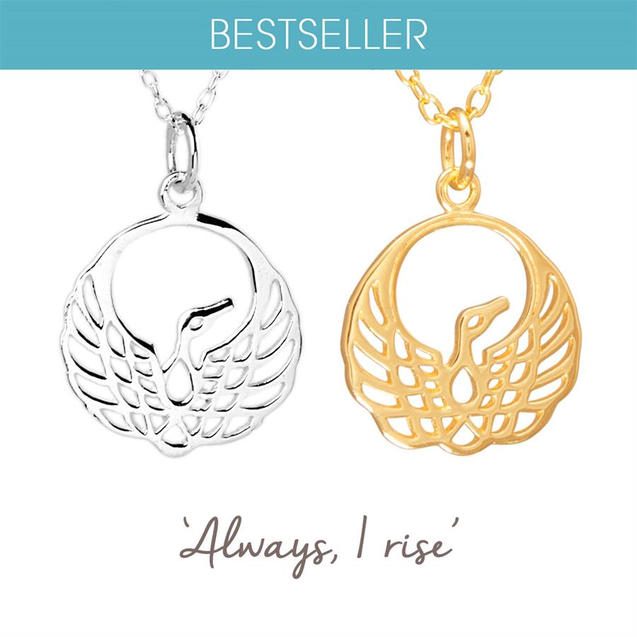 Sterling Silver Phoenix Necklace