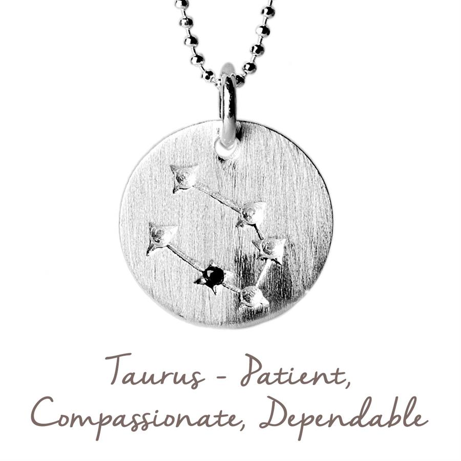 Taurus Star Map Necklace