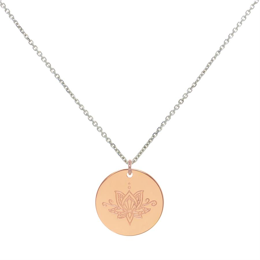 Rose Gold Personalised myMantra Necklaces