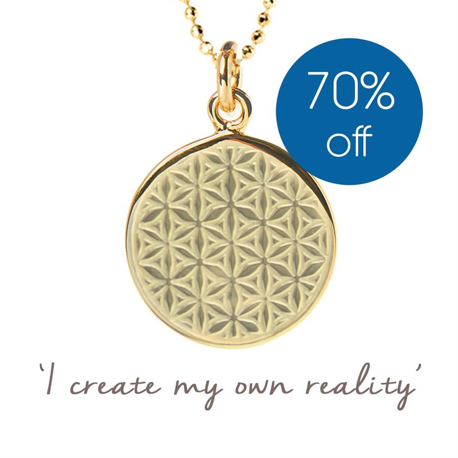 Mel Wells Flower of Life Necklace