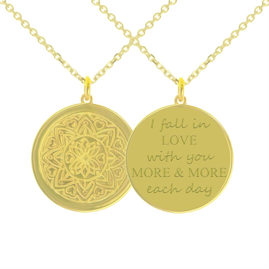mantra jewellery valentines necklace