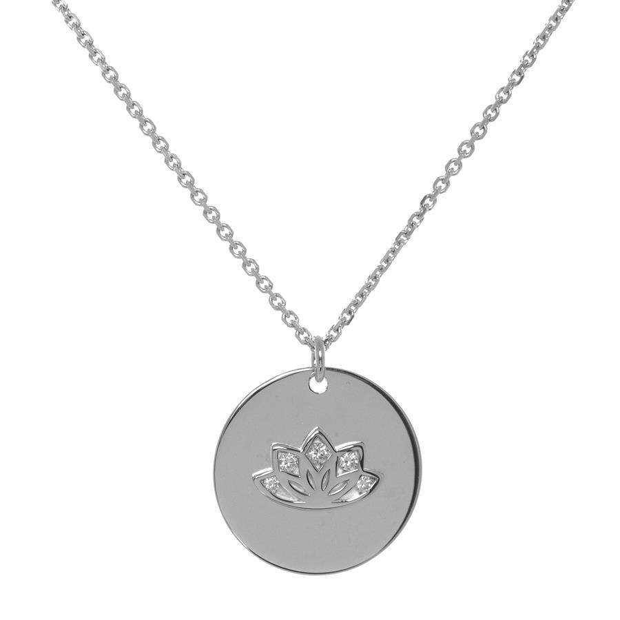 Buy Multi CZ MyMantra Personalised Short Necklace | Sterling Silver, Gold & Rose Gold