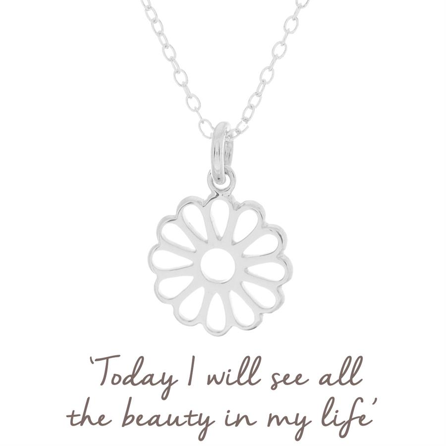 Buy Daisy Necklace | Sterling Silver