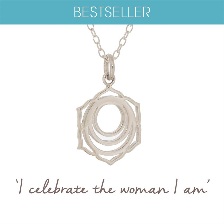 Sterling Silver Sacral Chakra Necklace