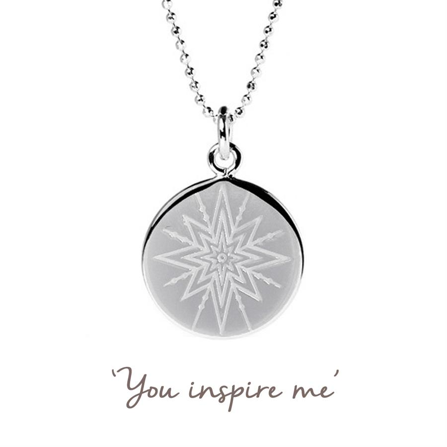 Buy You Inspire Me Star Necklace | Sterling Silver, Gold & Rose Gold