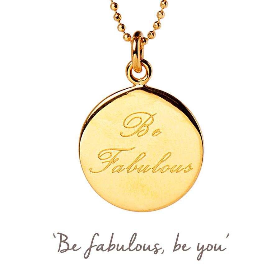 Gold Be Fabulous Necklace