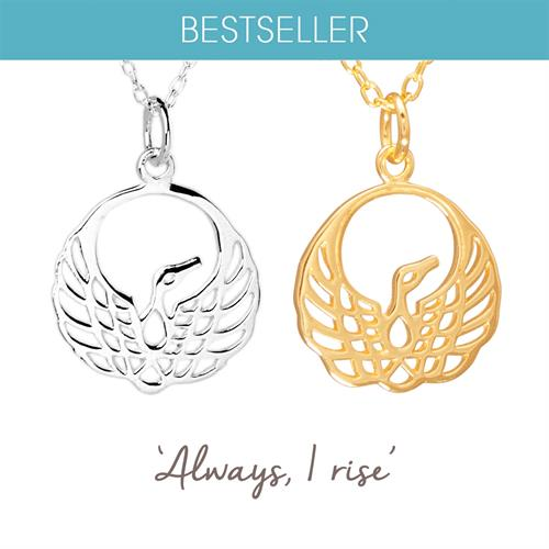 Buy Phoenix Necklace in Sterling Silver