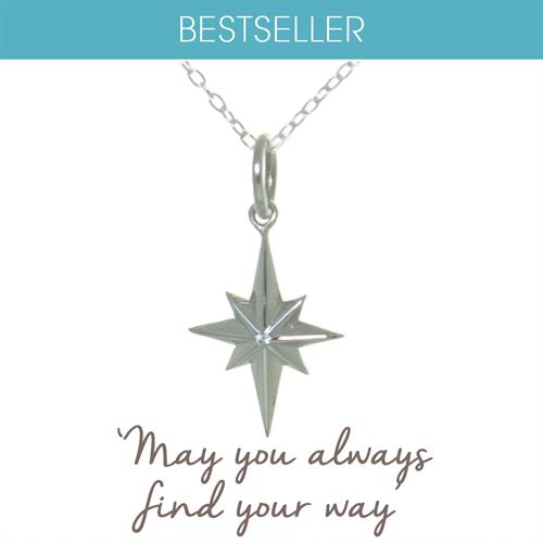 Buy North Star Necklace in Sterling Silver