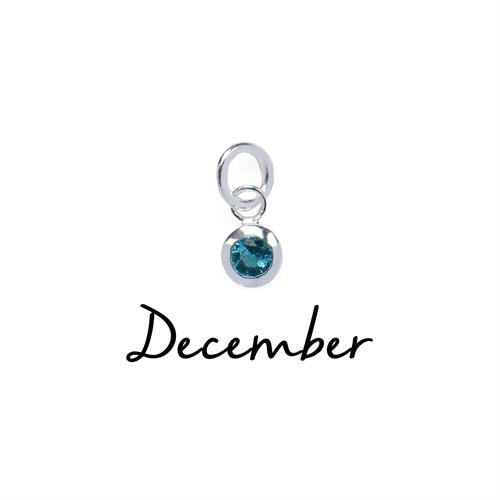 Buy December CZ Birthstone | Sterling Silver