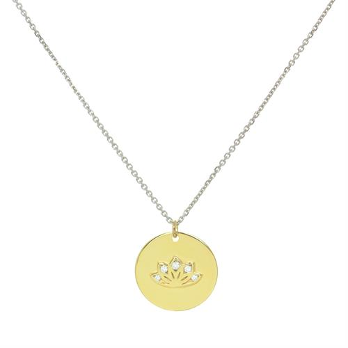 Personalised Gold Multi CZ myMantra Necklace