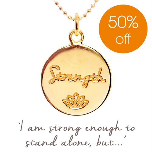 Strength Necklace for MIND Charity