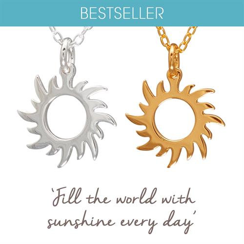 Buy Sun Necklace in Sterling Silver
