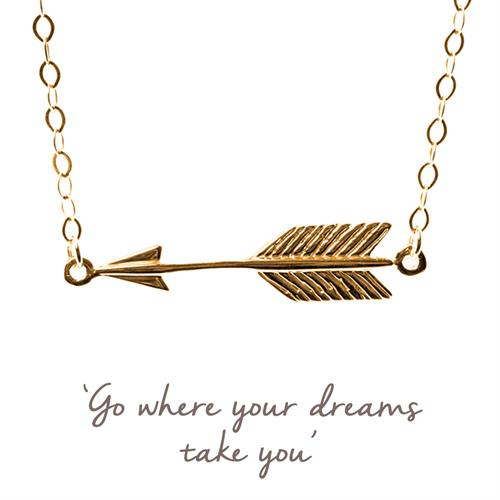 Buy Arrow Necklace in Sterling Silver