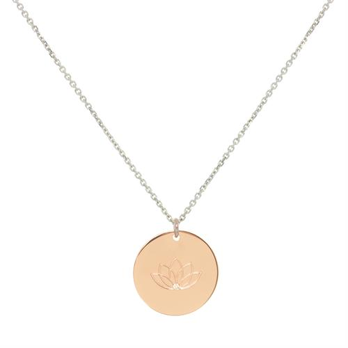 Buy Rose Gold CZ My Mantra Personalised Long Necklace