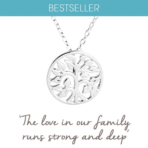 Buy Family Tree Necklace in Sterling Silver
