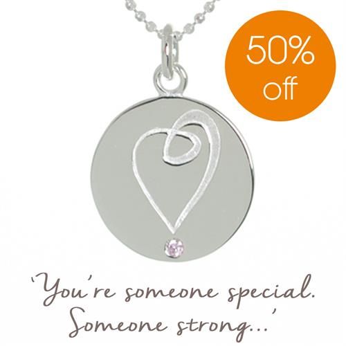 Breast Cancer Haven Charity Necklace