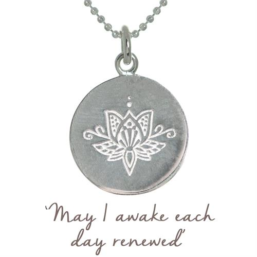 Lotus Yoga Necklace