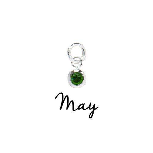 Buy May CZ Birthstone | Sterling Silver