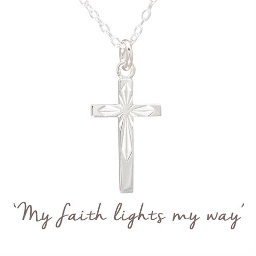 Buy Cross Necklace | Sterling Silver