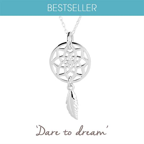 Buy Dreamcatcher Necklace in Sterling Silver