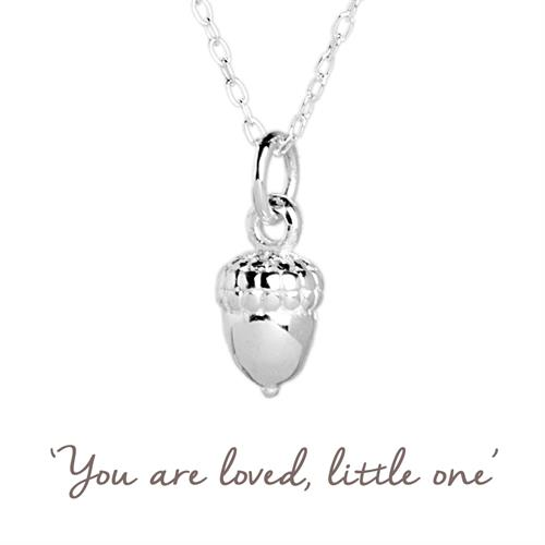 Buy Acorn Necklace in Sterling Silver