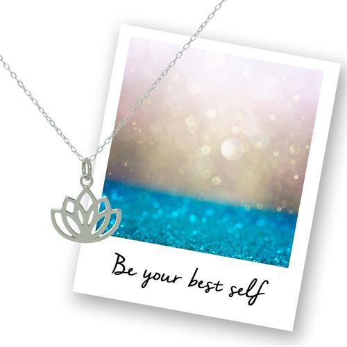 Buy Lotus Necklace in Sterling Silver