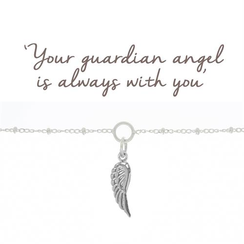 Buy Angel Wing Bracelet in Sterling Silver