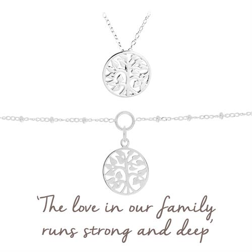 Buy Family Tree Gift Sets | Sterling Silver