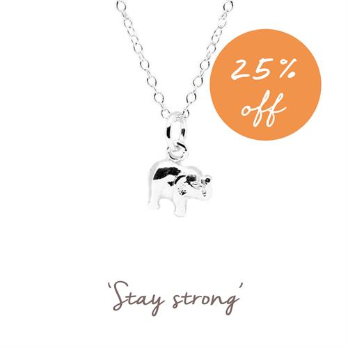 Buy Elephant Necklace | Sterling Silver