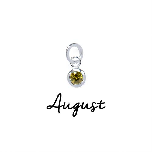 Buy August CZ Birthstone | Sterling Silver