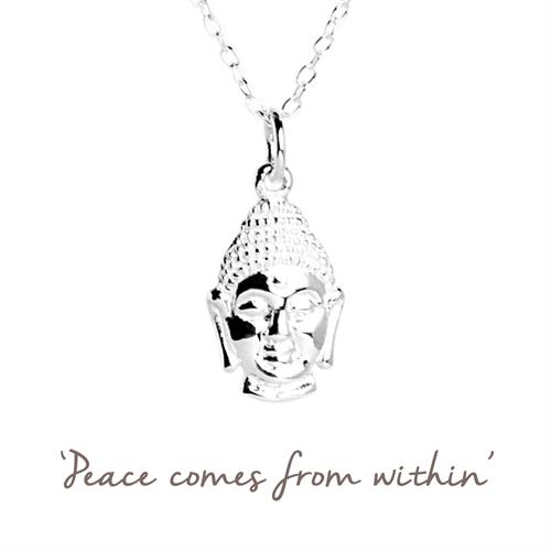 Buy Buddha Necklace in Sterling Silver