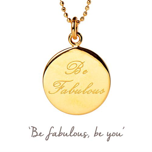 Buy Be Fabulous Necklace | Sterling Silver, Gold & Rose Gold