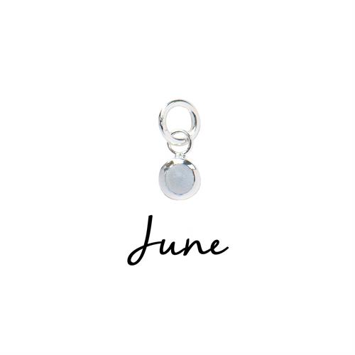 Buy June CZ Birthstone | Sterling Silver