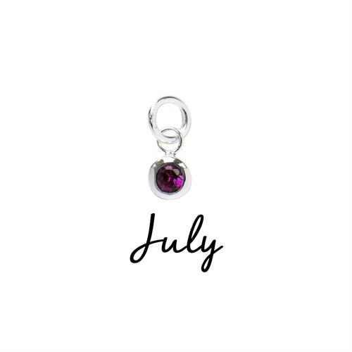 Buy July CZ Birthstone | Sterling Silver