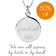 sisterhood charity necklace women for women international