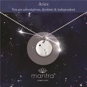 Personalised Aries Star Map Necklace Gifts