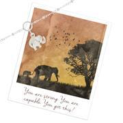 Elephant Bracelet in Sterling Silver