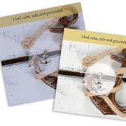 Anchor Necklace and Bracelet Gift set for Calmness