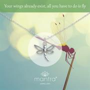 Dragonfly Necklace in 925 Silver