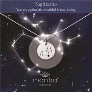 Buy Sagittarius Star Map Necklace | Sterling Silver and Gold