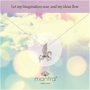 Pegasus Necklace for creativity and imagination