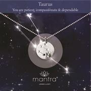 Buy Taurus Star Map Necklace | Sterling Silver and Gold