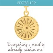 Buy Everything I Need is Already Within Me Necklace | Sterling Silver, Gold & Rose Gold