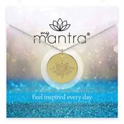 Personalise your message on myMantra Necklaces