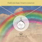 Sterling Silver NHS Charities Rainbow of Hope Necklace