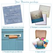 Personalised letterbox size gift box