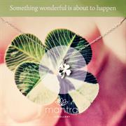 Cute Sterling Silver 4 Leaf Clover Necklace