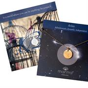 Initial Necklace & Zodiac Necklace Gift Sets