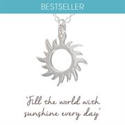 Sun Necklace - Inspirational Jewellery