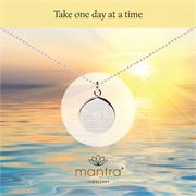 Buy One Day at a Time Necklace | Sterling Silver, Gold & Rose Gold